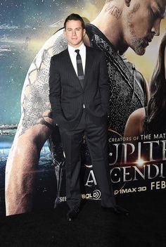 Channing Tatum - Jupiter Ascending Premiere #suits