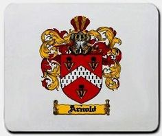 Arnold Family Shield / Coat of Arms Mouse Pad