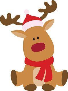 FREE SVG rudolph reindeer