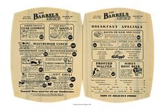 Mayflower Donuts, 1939 Menu, The Optimists Creed, Cool Culinaria Vintage Menu Print | Cool Culinaria USA