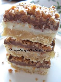 ShowMe Nan: Toffee Chocolate Bars