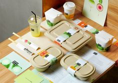 Rebrandig of Obentos – a healthy casual-dining restaurant in Beijing.