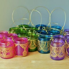 Hanging Candle Lanterns | 18 Hanging Candle Lanterns Inspired by Moroccan Decor, Your Choice of ...