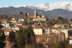 Pinerolo, italy. Turin Piemonte