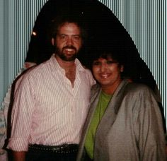 Merrill Osmond and Candy
