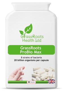 GrassRoots ProBio Max: a practitioner-strength, multi-strain probiotic Forks Over Knives, Raw Vegan, Herbalism, Health, Food, Herbal Medicine, Health Care, Essen, Meals