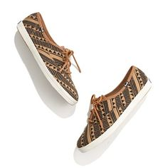 Keds® for Madewell ... love the pattern!!