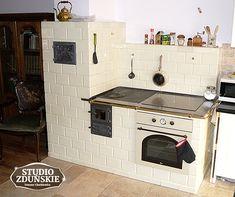 Kuchnie kaflowe - STUDIO ZDUŃSKIE - kominki, piece, grille, kuchnie kaflowe.