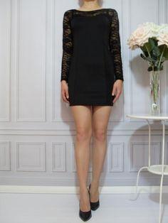 Podkreśl kobiecość ołówkowa sukienka koronka SALE