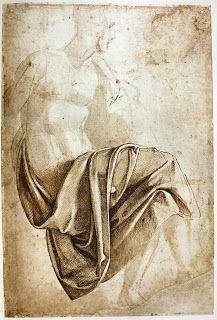 Michelangelo drapery