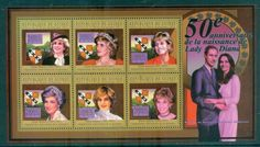 Guinee 2011 Famous People, Royalty, Diana MS MUH GU11112a