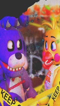 Bonnie-x-Toy-chica by EltioKenshin