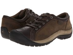 Keen Briggs Leather (Cascade Brown) Women's Lace up casua...