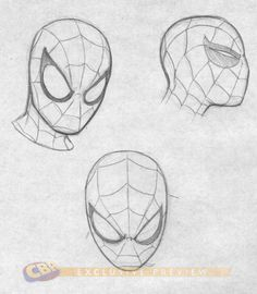Spiderman's expressions