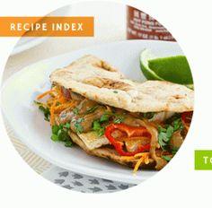 Oh My Veggies Recipe Index