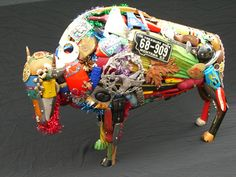 How to Recycle: Recycled Junk Art