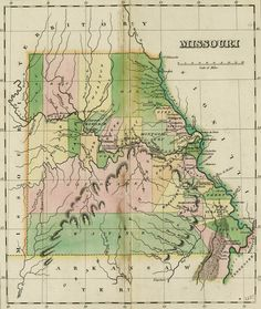 Geographical, Statistical, and Historical Map of Missouri [1827]