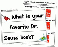 Seuss Book Graphing Printables pages free atoztea.ch/wCqOqW The Effective Pictures We Offer You About dr seuss grinch A quality picture can tell you many things. Dr Seuss Grinch, Dr Seuss Day, Dr Seuss Activities, Book Activities, School Holidays, School Fun, Dr Suess Books, Author Studies, Teaching
