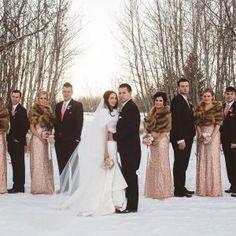 New Year's Eve Vermillion Wedding