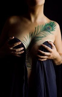 Get A New Tribal Feather Tattoo