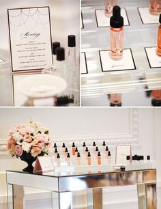 Pin for Later: 5 Trendy Ideas to Spice Up Your Bridal Party Perfume Bar