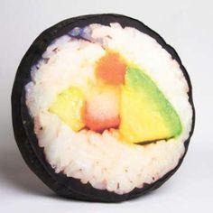 Huge Sushi Plush Yummy Throw Pillow!