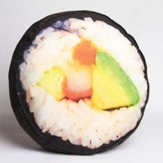Huge Sushi Plush Yummy Throw Pillow!