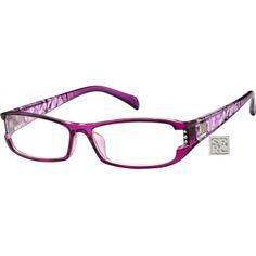 e347a2c060d Purple Rectangle Glasses  274717