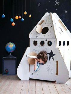 Rocket DIY for kids