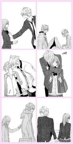 namaikizakari couple  ^  ^///                                       ^     so sweet !