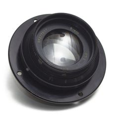 Large Format LENS 8 inch 200mm F5.6 Vintage Military RAF Aerial AM 14A/1727 VGC
