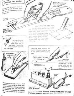 Craftool swivel knife sharpening 2