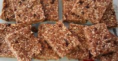 Recipe Raw Chocolate Crackle Slice (from 28 by Sam Wood) by selbel4, learn to make this recipe easily in your kitchen machine and discover other Thermomix recipes in Desserts & sweets.