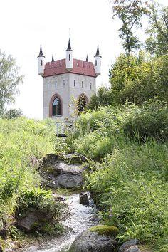 Mustion Linnan alueen näköalatorni   by visitsouthcoastfinland #visitsoutcoastfinland #mustionlinna #Finland
