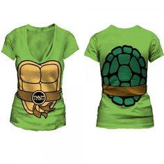 Teenage Mutant Ninja Turtles Shell T-shirt I NEED TO BUY THIS OMG