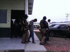 Detienen a tres miembros de la pandilla 18 en Tegucigalpa