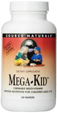 Source Naturals MegaKid Chewable MultiVitamin 60 Wafers *** Check out this great product.