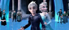 Jack: So since we're married, I'm the.king now! You have to do a little more hard work and deadlines along with your snowballs and fun times, now! Princess Anna, Disney Princess, Sailor Moon Background, Jack Frost And Elsa, Zen 2, The Big Four, How To Make Comics, Kids Wallpaper, Snow Queen