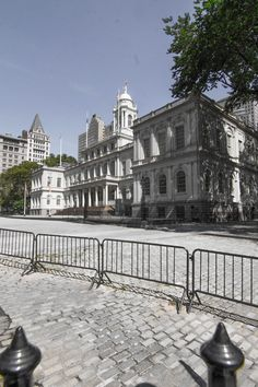 New York City Hall in lower Manhattan, NYC (08/24/2016)