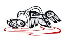 SWANS-Prints - Glen Rabena, Northwest Coast Native Artist