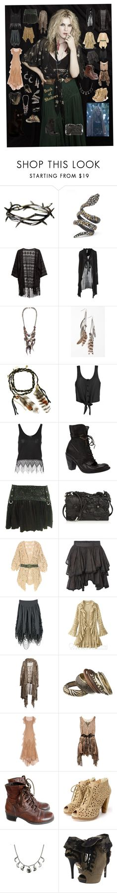 """Misty Day-Coven-American Horror Story"" by mrsmotionless ❤ liked on Polyvore featuring Alexis Bittar, H&M, Firetrap, AllSaints, Urban Outfitters, Disney Couture, Jane Norman, Guidi, Valentino and Cheap Monday"