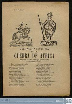 Verdadera historia de la Guerra de Africa, escrita por un testigo presencial