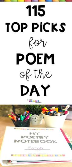 115 Best Poem of the Day Printable for Kids