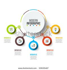 Can be used for workflow layout, diagram, business step options, banner, web design. Circle Infographic, Infographic Templates, Infographics, Web Design, Layout Design, Presentation Design, Presentation Templates, Powerpoint Design Templates, Illustration Vector