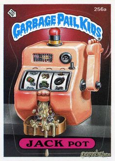ANS 2007 USA Garbage Pail Kids ALL NEW SERIES 7 COMPLETE ACTIVITY Card Set