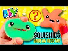 Cómo hacer SQUISHIES caseros ¡¡NUEVA RECETA!! DIY Squshies ANTI ESTRÉS super fáciles - YouTube
