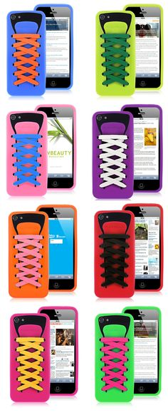 Athletic Shoes iPhone 5 Silicone Cases CUTE