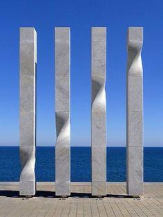 Les quatre barres / Ricardo Bofill / Barcelona  Vir·tu·al Ge·om·e·try
