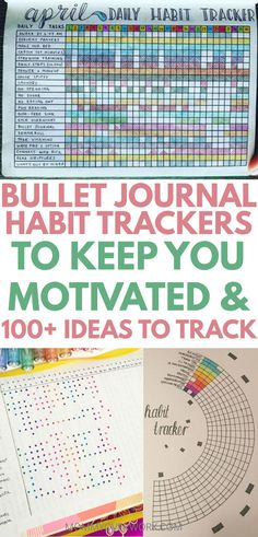 Learn how to make a BULLET TRACKER HABIT TRACKER. Get a free check list key of 101+ ideas on things to put in it broken down by categories from house chores and cleaning, water and fitness, mental health and more. See simple, creative pages for layout inspiration to DIY in your bujo / planner. Track your habits daily in a small weekly, monthly, or large yearly spread. Minimalist to elaborate. Circle to vertical and in between. See my printables post for a free 30 day tracker template chart.