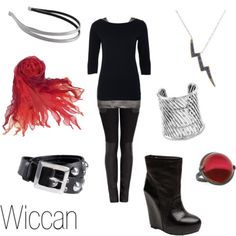 Wiccan love the scar and boots with that outfit